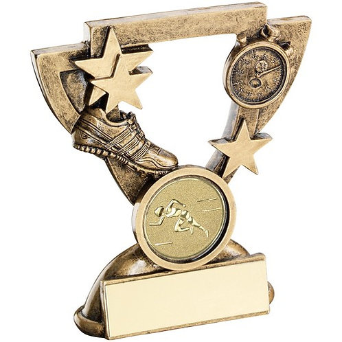 Athletics Mini Cup Trophy - 95 mm