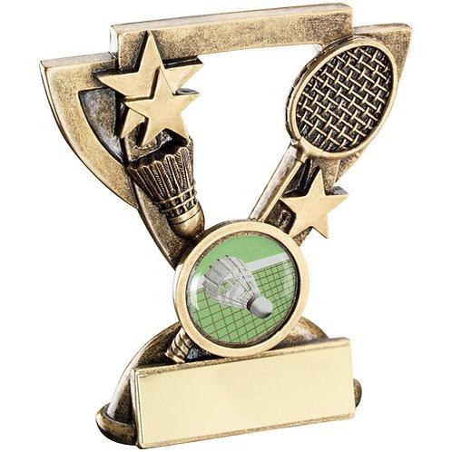 Badminton Mini Cup Trophy - 95 mm