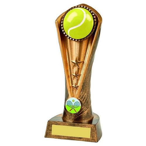 Antique Gold Tennis Cobra Award - 210mm