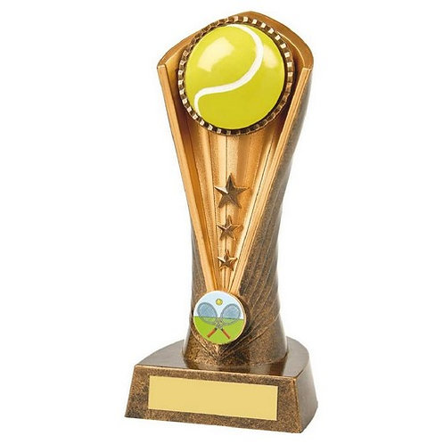 Antique Gold Tennis Cobra Award - 190mm