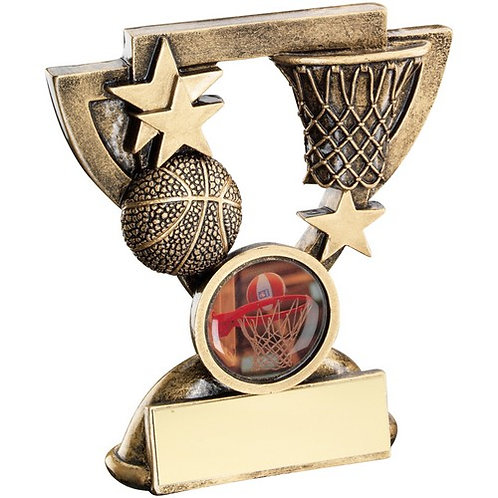 Basketball Mini Cup Trophy - 95 mm