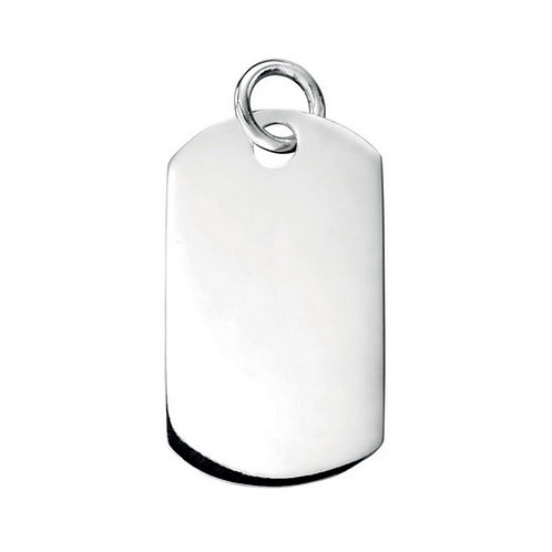 Army Dog Tag' pendant | Excludes chain