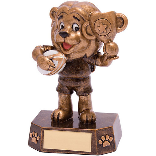 Braveheart Rugby Award - 125mm