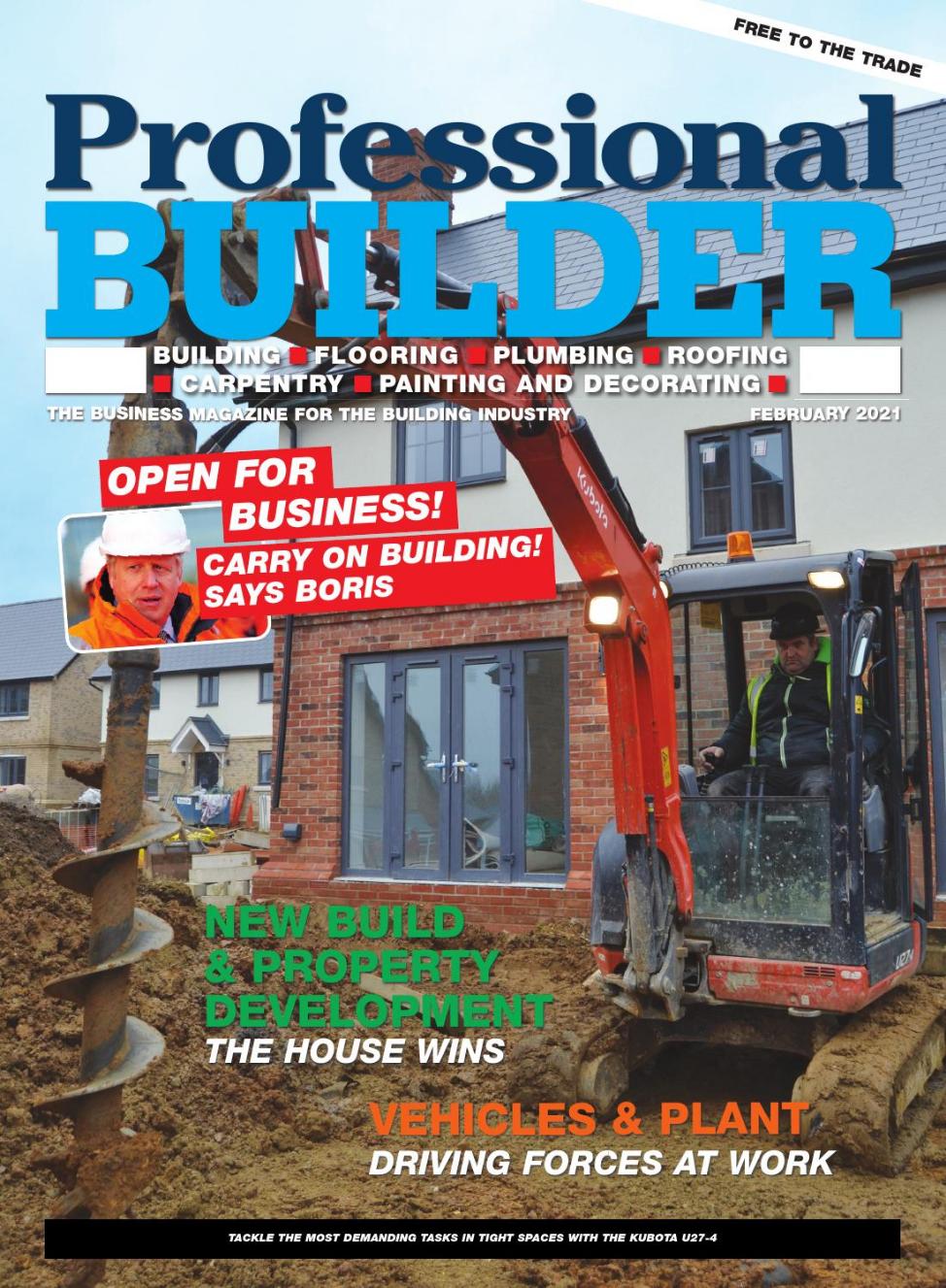 CellBox Trades in Professional Builder Magazine