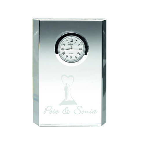 Rectangle Clock - 121 mm