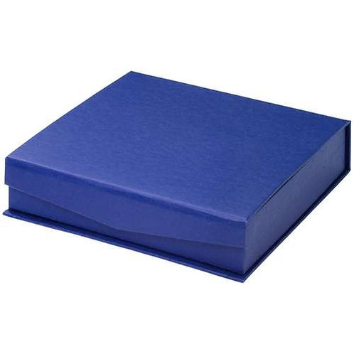 "Blue Presentation Box For Salvers - Fits 4"" Salver - 110 x 110 x 35 mm"