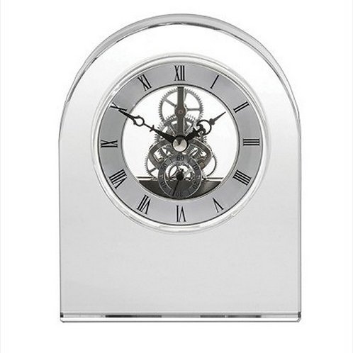 Royal Scot Clock | Contemporary Dome | Greenwich | 150mm | Free Engraving