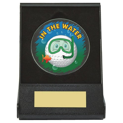 Black Case Golf Collectable - Water - 60mm