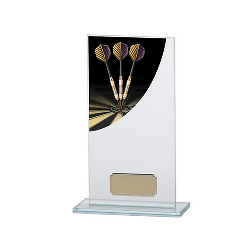 Colour Curve Darts Jade Glass Award - 180mm