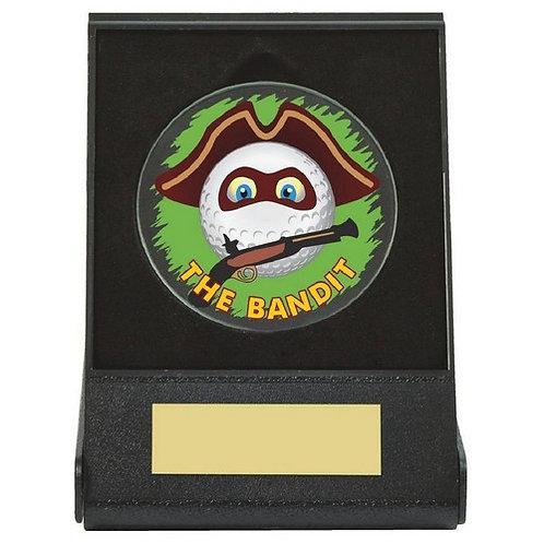 Black Case Golf Collectable - Bandit - 60mm