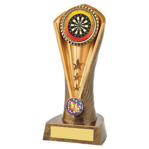 Antique Gold Darts Cobra Trophy - 190mm