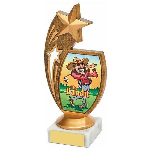 Antique Gold Star Awards - 'The Bandit' - 170mm