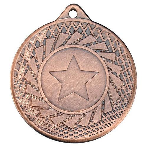 Blade Medal - Bronze  - 50 mm