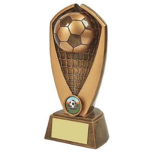 Antique Gold Resin Football Award - 210mm