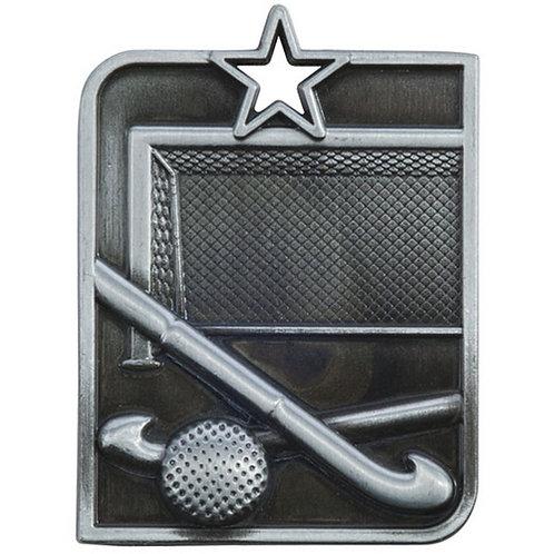 Centurion Star Series Hockey Medal Silver - 53x40mm