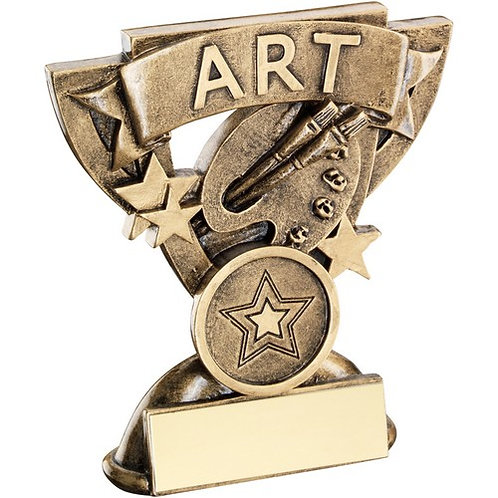 Art Mini Cup Trophy - 95 mm