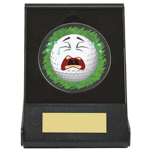 Black Case Golf Collectable - Crying - 60mm