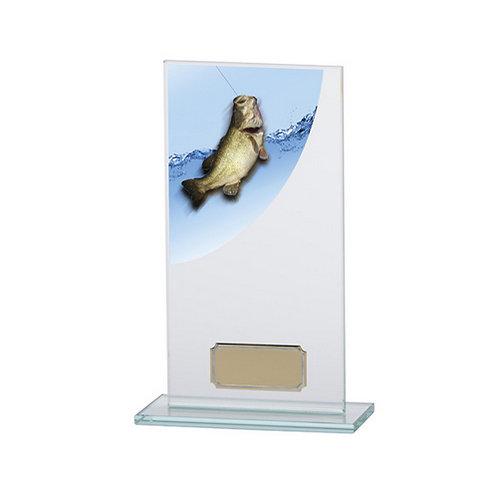 Colour Curve Angling Jade Glass Award - 180mm