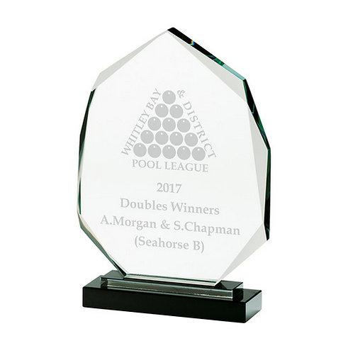 Clarity Oical Crystal Award - 250mm
