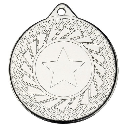 Blade Medal - Silver  - 50 mm