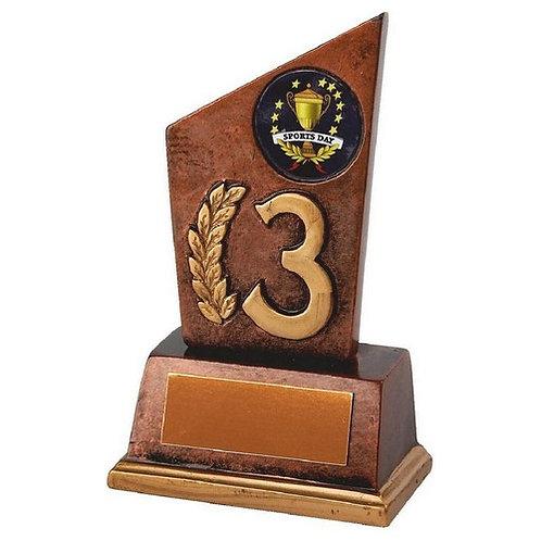 Bronze Resin 3rd Award - 110mm
