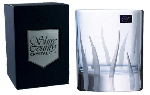 Shire County Crystal Cornwall | Tor Design | Whisky Tumbler 30cl | Gift Carton
