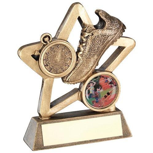 Athletics Mini Star Trophy - 95 mm