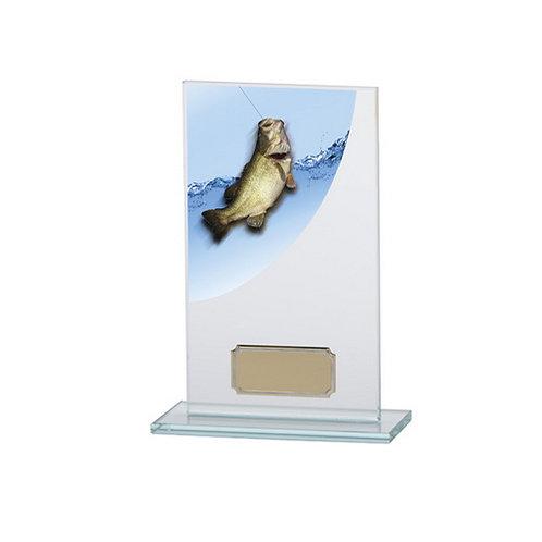 Colour Curve Angling Jade Glass Award - 160mm