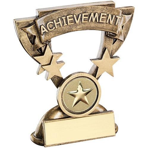 Achievement Mini Cup Trophy - 95 mm