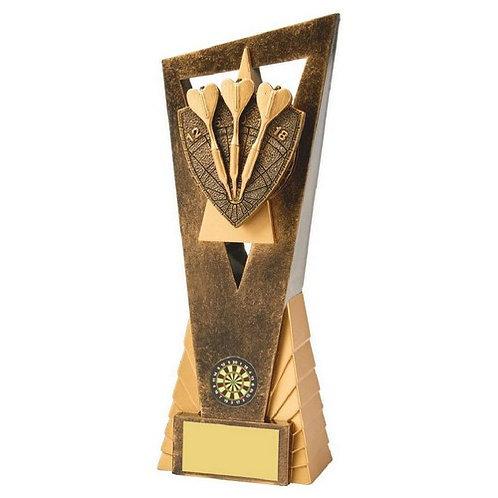 Antique Gold Darts Edge Award - 230mm