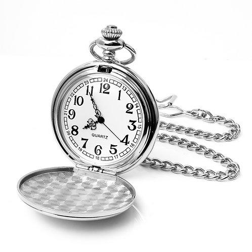 Quartz Pocket Watch | Free Engraving