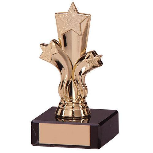 Aviator Star Gold Trophy - 115mm