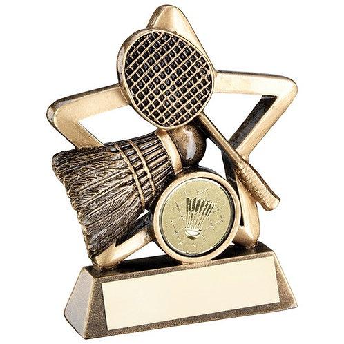 Badminton Mini Star Trophy - 95 mm
