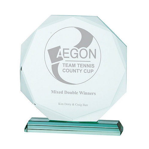 Aspire Jade Crystal Award - 175mm