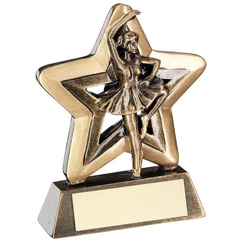 Ballet Mini Star Trophy - 95 mm