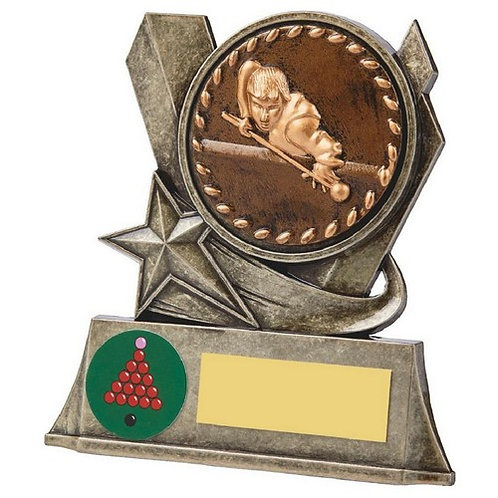Antique Gold Metal Stand - Snooker/Pool - 100mm
