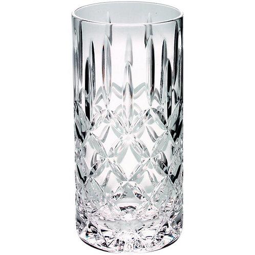 405ml Highball Glass Tumbler Fully Cut - 152 mm