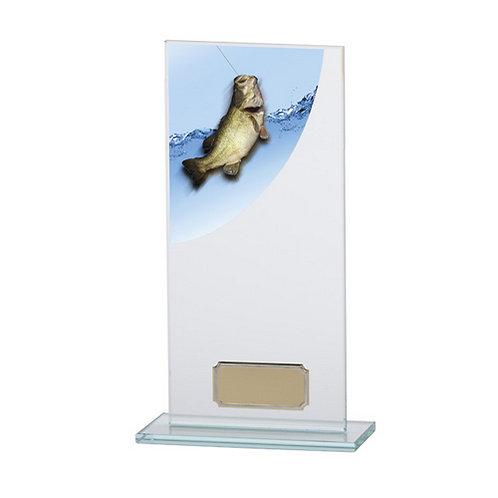 Colour Curve Angling Jade Glass Award - 200mm