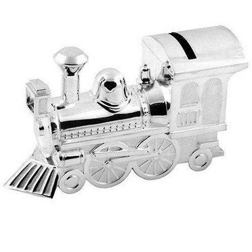 Money Box | Train | Silver Plated | Free Engraving