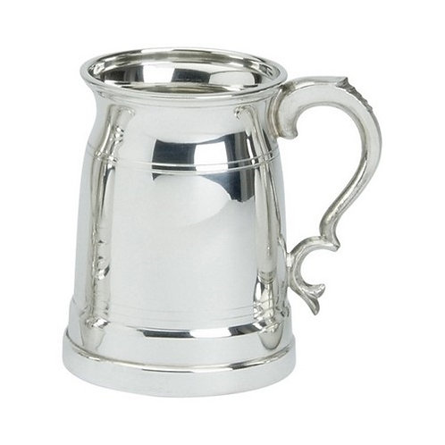 Tankard | 1 Pint | Old London Design | Pewter | Free Engraving