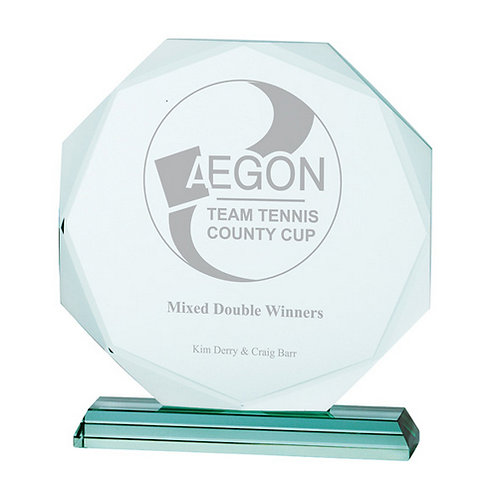 Aspire Jade Crystal Award - 200mm