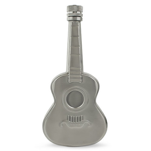 Guitar Hip Flask| Steel | 5oz | Free Engraving