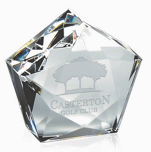 Diamond Dome Paper Weight | Free Engraving