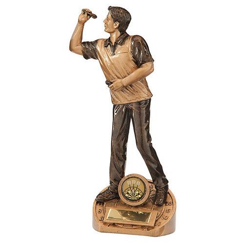Bullseye Male Darts Award - 215mm