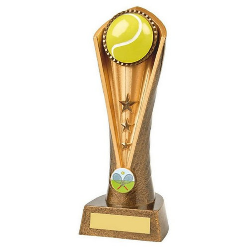 Antique Gold Tennis Cobra Award - 230mm
