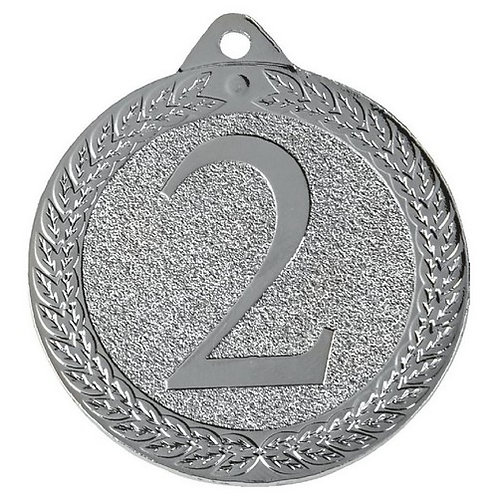Silver 2nd Medal - 50mm