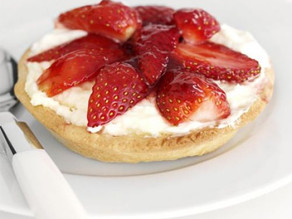 Simple Strawberry tarts ideal for the Children to make
