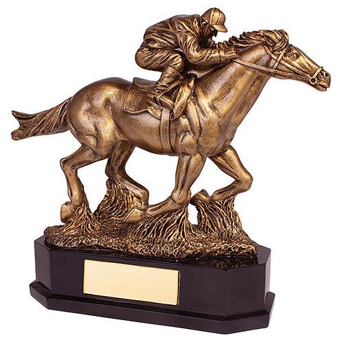 Aintree Equestrian Racing Horse Award - 220mm