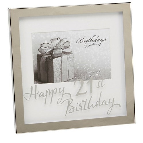 Photoframe | 21st Birthday |  6 x 4"