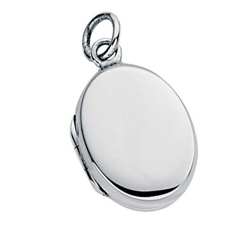 Classic Locket | Sterling Silver | Excludes chain